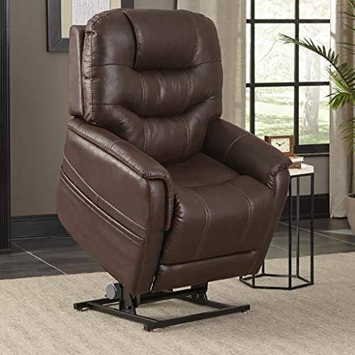 (Pride ViVaLift Elegance V.2 Infinite Lay Flat Lift Chair (PLR975M) with Inside Delivery Option (Badlands Walnut, Curbside Delivery))