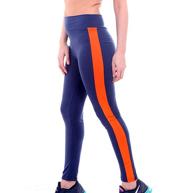 Juleya Mujer Leggins Push Up Tights Yoga - Mujeres Leggings Pantalones de  Chándal Elástico Pantalones de Fitness Patchwork de Cuero Cintura Alta de  Correr ... a0cef0197175