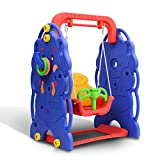 HOMCOM Kids Children Baby Swing Garden Playground Indoor Outdoor Activity Play Fun Equipment