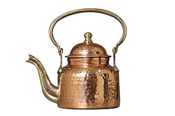 Buy Nutristar Pure Copper Kettle Hammered Tea Kettle Pot