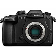 "Panasonic DC-GH5KBODY Lumix 4K Mirrorless Ilc Camera Body, 20.3 MP, Wi-Fi + Bluetooth with 3.2"" LCD, Black"