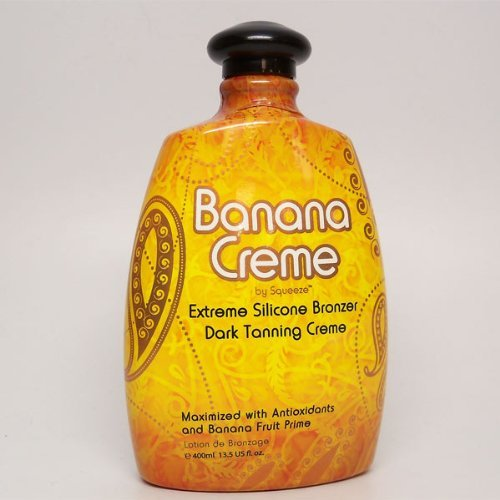 2009 Squeeze Banana Creme Firming Bronzer Tanning Lotion 13.5 oz. by Squeeze
