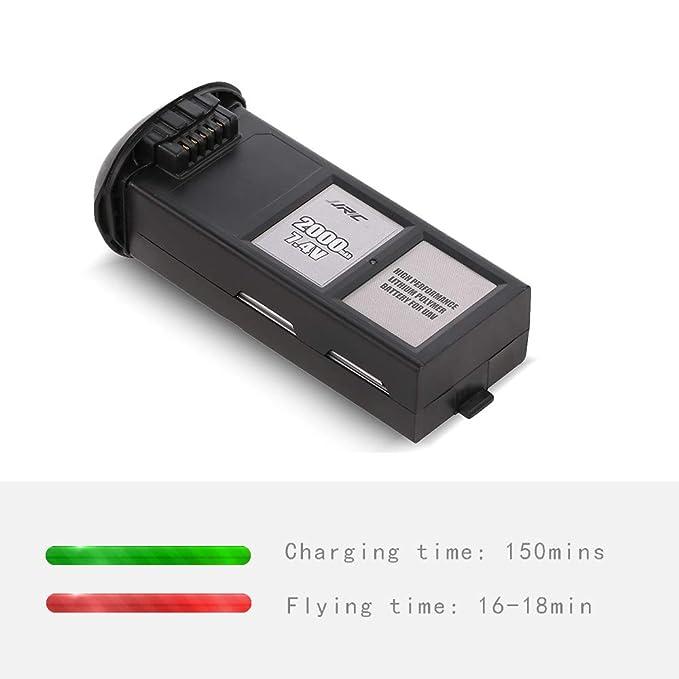 Goolsky JJR/C 7.4V 2000mAh Li-po Drone batería para JJR / C X3P ...