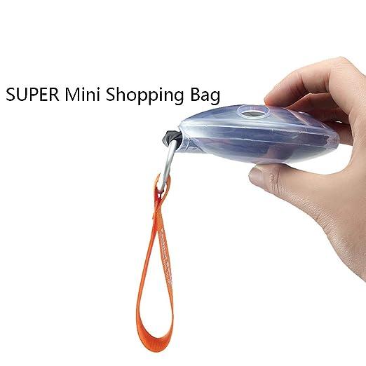 Mini bolsa de viaje: bolsa de almacenamiento telescópica ...