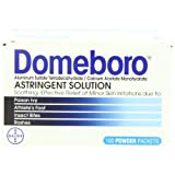 Domeboro astringent solution powder packets - 100 ea