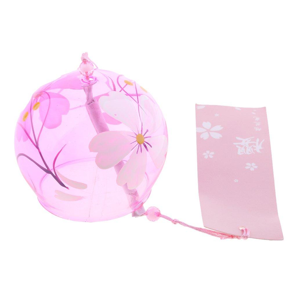 Baoblaze Japanisches Windspiel Wind Glocken Japanische Kirschblü te Wind Chimes - #1