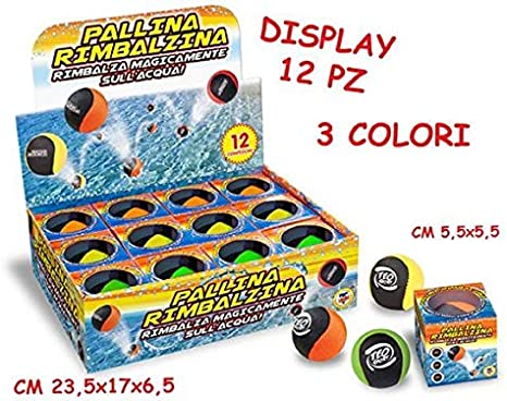 Teorema Pallina Rimbalzina SullAcqua 56 Mm (Assortimento) Merchandising: Amazon.es: Deportes y aire libre