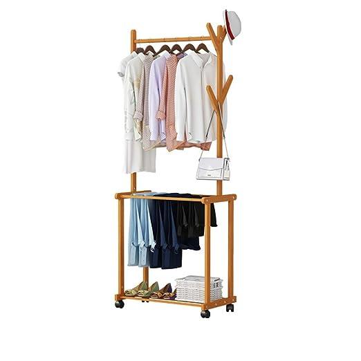 Perchero para ropa de estilo europeo que puede mover el ...