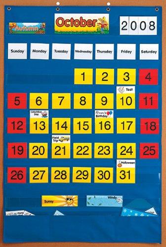 Calendar Pocket Chart [Case of 5]
