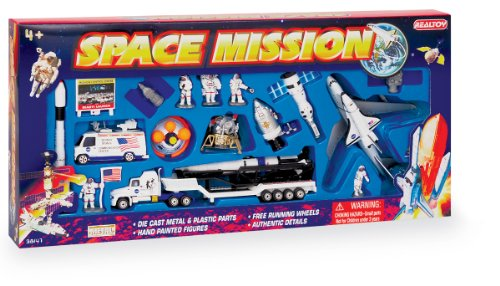 Space Mission 20 Piece Play - Mission Shops