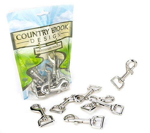 Country Brook Design 50 3/4 Inch Swivel Snap Hooks by Country Brook Design (Image #1)