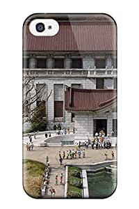 Cute Tpu ZippyDoritEduard Japanese Architecture Case Cover For Iphone 5C