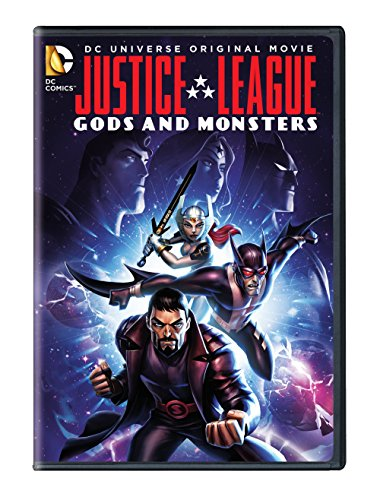 DVD : Justice League: Gods & Monsters (Full Frame, Eco Amaray Case)