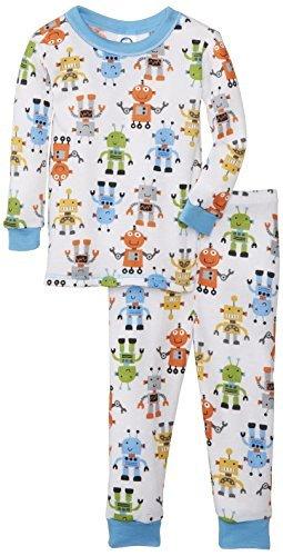 Pijamas térmicos Gerber bebé-Boys Infantil 2 piezas Boy, Monstruos, 18 Meses Color