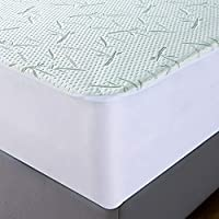 PMP PU Waterproof and Breathable Mattress Cover White