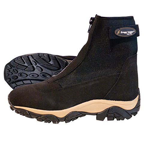 Frogg Toggs Aransas Ii Neoprene Surf & Sand Shoe Cleated – 12 D(M) US – Black/Tan For Sale