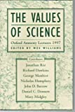 Values of Science, Wes Williams, 0813367573