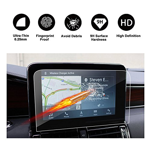 2018 Lincoln Navigator Sync 3 10-Inch Display Touch Screen Car Display Navigation Screen Protector, R RUIYA HD Clear TEMPERED GLASS Car In-Dash Screen Protective Film