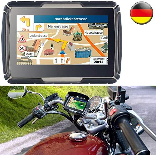 NavGear TourMate N4 - navegador GPS para motocicleta o coche para exterior de Alemania: Amazon.es: Electrónica