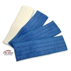 Amazon Com Microfiber Dry Amp Wet Mop Cleaning Velcro Pads