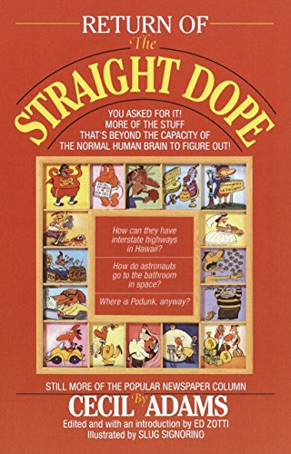 Straight Dope - 4