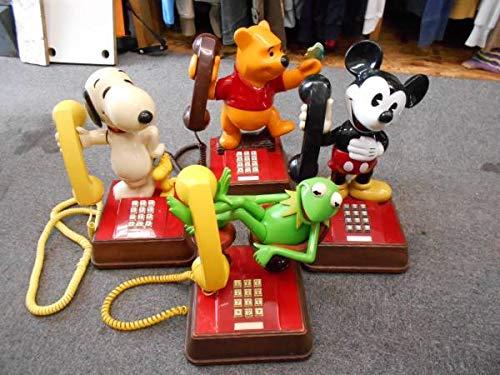 Amazoncojp キャラクター電話 4台セット カーミット