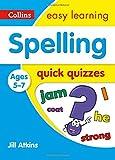 Spelling Quick Quizzes: Ages 5-7