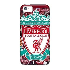 Iphone 5c Liverpool Fc Logo Print High Quality Tpu Gel Frame Case Cover