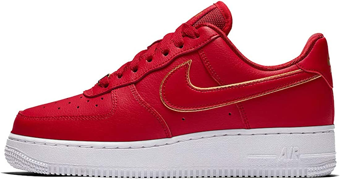 zapatos nike force mujer roja