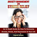 Anxiety Management and Stress Relief: An in Depth Guide on How to Overcome Anxiety, Stress, and Depression in Your Life Audiobook by David Green Narrated by Frank George