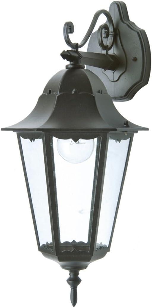 éclairage extérieur terrasse maison LED Lanterne extérieure Lampe murale classique Noir