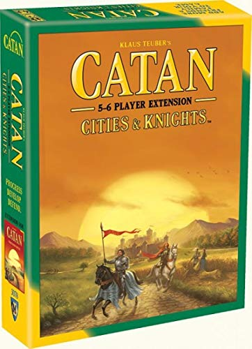 Catan Extension: Cities & Knights 5-6 Player