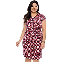 Vestido Plus Size Cachecoeur Vermelho
