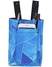 Crutch Storage Pocket, Crutch Bag, Crutch Accessory Water-Resistant Wallet Keys Mobile Devices for Carry Loose Items Water Bottle