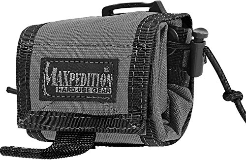Maxpedition Rollypoly Folding Dump Pouch, Wolf Gray