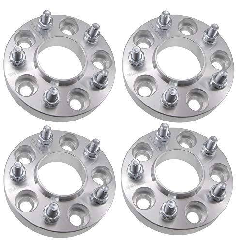 (2) 25mm 5x114.3 Hubcentric Wheel Spacers (67.1mm Bore) Fits Mazda RX 7 RX 8 Miata MX-5 & More