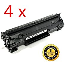 4 Pack SaveOnMany ® HP 85A CE285A 85 285A Black BK HP85A New Compatible Laser Toner Cartridge For HP LaserJet Pro M1210, M1212nf, M1217nfw MFP, P1100 Series, P1102 / LaserJet M1132, P1100 Series, P1102W - each 1,600 Pages Yield