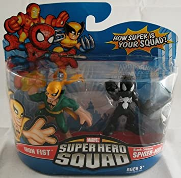 Marvel Superhero Squad Series 14 Mini 3 Inch Figure 2-Pack Black ...