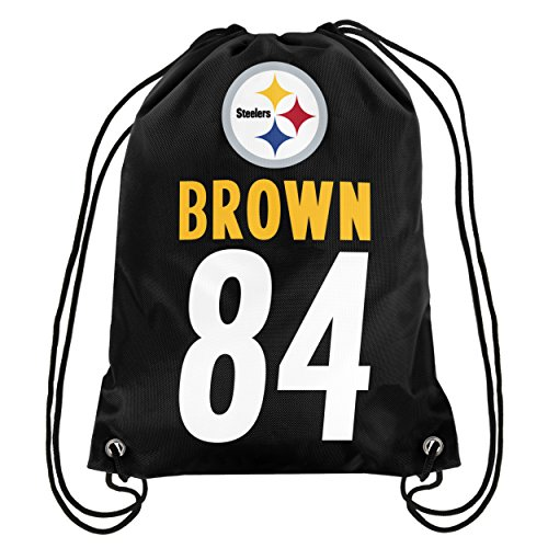 Pittsburgh Steelers Brown A. #84 Player Drawstring Backpack