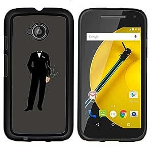 Stuss Case / Funda Carcasa protectora - Anonymous Suit - Motorola Moto E2 E2nd Gen