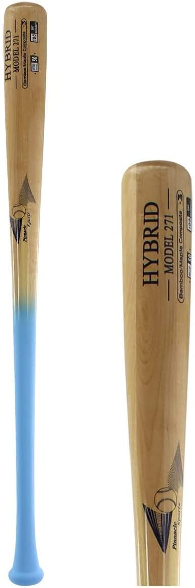 BamBooBat Bamboo Maple Composite Wood BBCOR Baseball Bat HCBN271 HCBN271