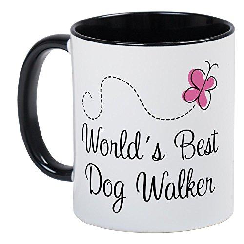 CafePress - Dog Walker (World's Best) Mug - Unique Coffee Mug, Coffee Cup