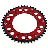 3 16 rivet washers - JFG RACING CNC 48T Rear Chain Sprocket For Honda CR125R 87-07 CR250R 84-08 CR500R 86-01 CRF150F CRF230F CRF230L CRF230M 03-12 CRF250R CRF250X 04-16 CRF450R 02-16 CRF450X 05-16 XR250R 97-04