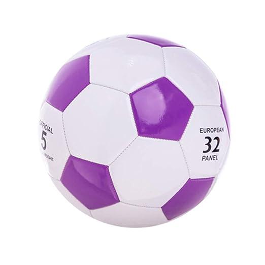 WFZ17 - Balón de fútbol de Piel sintética para niños y Adultos ...
