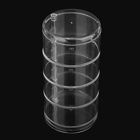Qinlorgo Estuche de Almacenamiento Caja de 4 Capas de ...