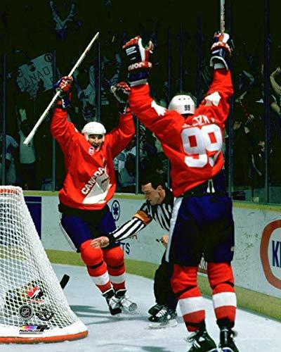 Team Canada Hockey Mario Lemieux & Wayne Gretzky 8