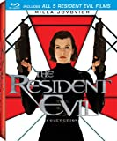 The Resident Evil Collection (Resident Evil/Resident Evil: Apocalypse/Resident Evil: Extinction/Resident Evil: Afterlife/Resident Evil: Retribution) [Blu-ray]