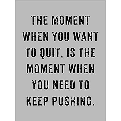 Amazon.com: Motivational Quotes Posters Prints The Moment ...