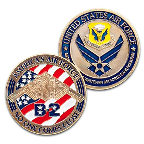 Art Crafter USA Air Forces B-2 Challenge Coin Badge K023