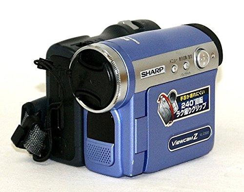 SHARP シャープ VL-Z300-A モーブブルー デジタルビデオカメラ ミニDV方式